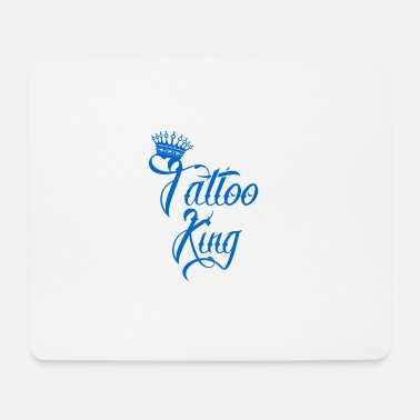 Tattoo geschenk king koenig needle tattoo - Mousepad (Querformat)