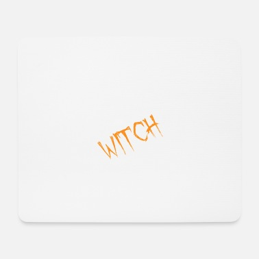 Undead Funny Halloween Son Of A Witch Tee - Mousepad (Querformat)