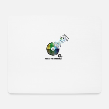 Dj DJ Party Musik Design - Mousepad (Querformat)