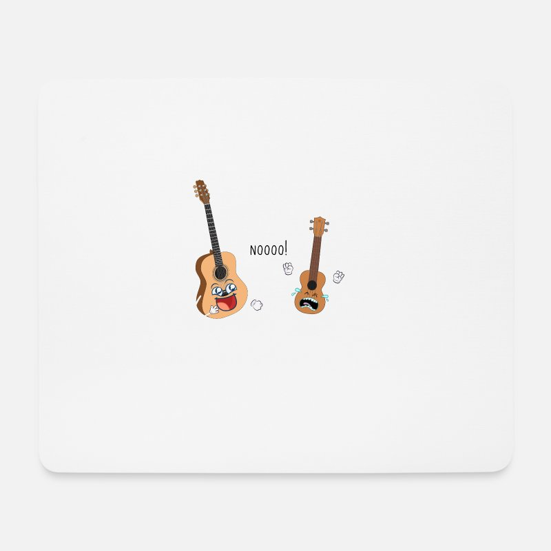 Music Is Life Mouse Pads - Uke I Am Your Father - Mouse Pad white