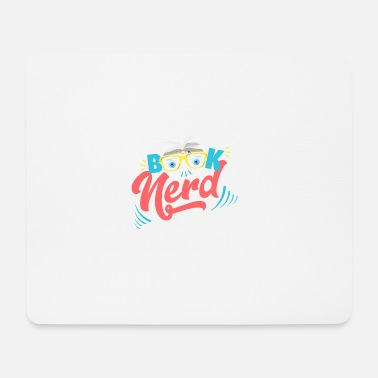 Book Children Book Nerd - addicted to books - Mouse Pad