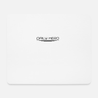 Daily Hero Accessories - Mouse Pad (horizontal)