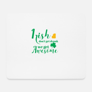 St Patricks Day St Patricks Day - Irish - Beer - Funny - Gift - Mouse Pad