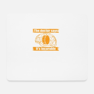 doctor doc says incurable diagnosis trommel drum d - Mouse Pad