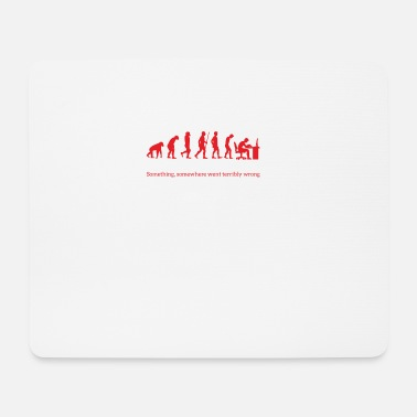 Geek Evolution - Nerd - PC - Geek - Geschenk - Mousepad