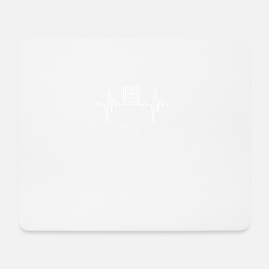 Cabinet Cabinet Heartbeat Gift - Mouse Pad