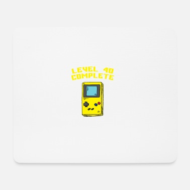 Gaming Level 40 Complete - Mousepad