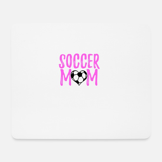 National Team Mouse Pads - Soccer Mom Gifts - Mouse Pad white