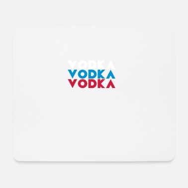 Vodka vodka vodka vodka, vodka, russian, russian, flag - Mouse Pad