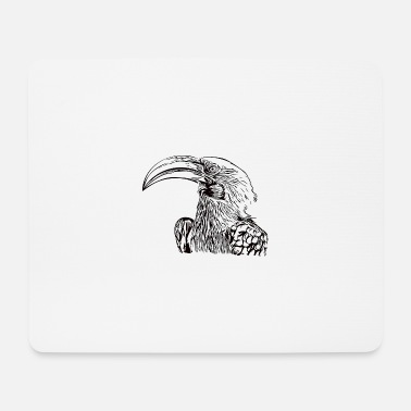 Beak Toko bird head beak - Mouse Pad