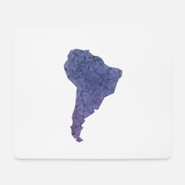 South America south america Thsirt Map South America - Mouse Pad