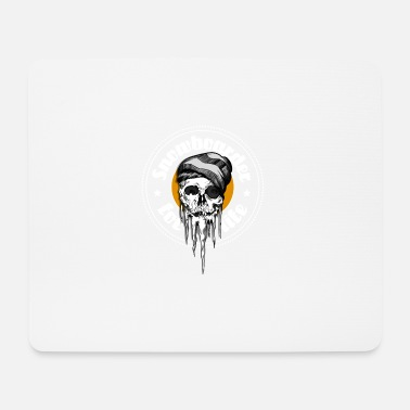 Winter Snowboarder - Mousepad (Querformat)