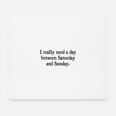 Chefchen Office humor work profession official office gift boss - Mouse Pad