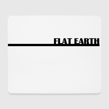 Flat Earth Basic - Mousepad (Querformat)