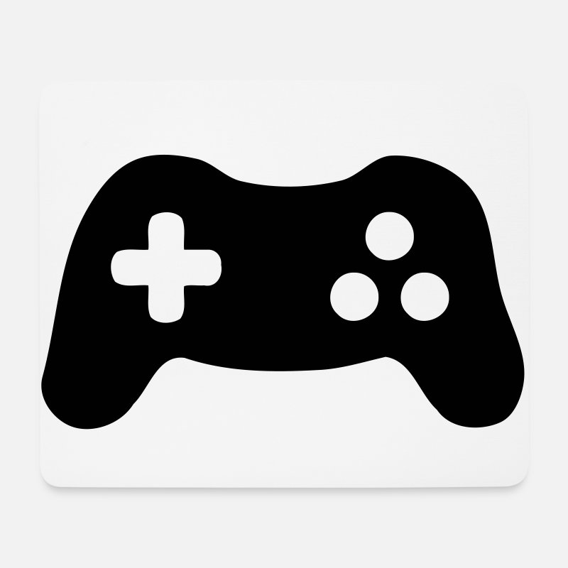 Esports Mouse pads  - Gamepad, Controller, Gamer - Mouse Pad white