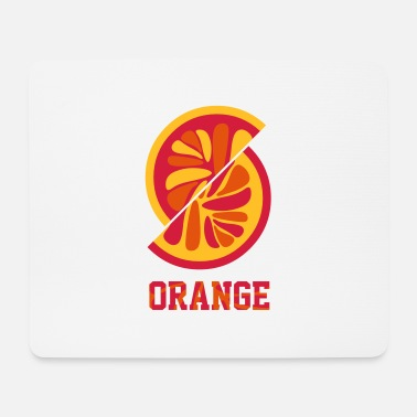 Orange Orange orange - Mouse Pad