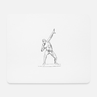 Athletics athlete - Mouse Pad