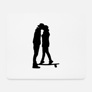 Kys skateboard kiss - Tappetino mouse