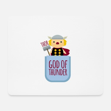 Donnergott Thor Donnergott God of Thunder Brusttasche Baby - Mousepad