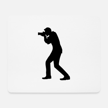 Camera Photographer Photographer Camera Camera Camera - Mouse Pad