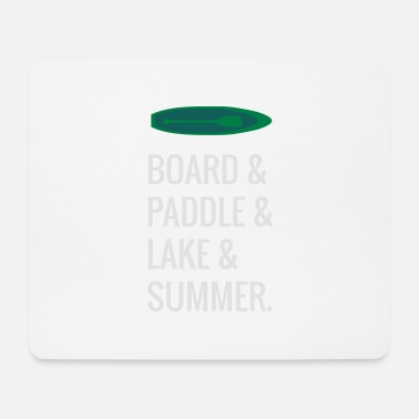 Stand Up Paddle Stand Up Paddle Paddle - Tapis de souris