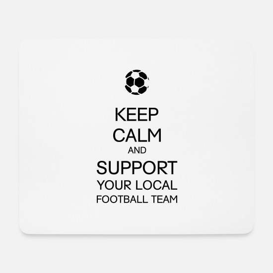 Pyro Mouse Pads - Support Local Football Team - Mouse Pad white
