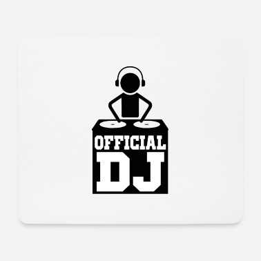 Officialbrands official dj - Mouse Pad