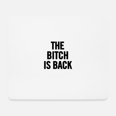 Back To Back World War Champions The Bitch Is Back 2 Black - Mousepad