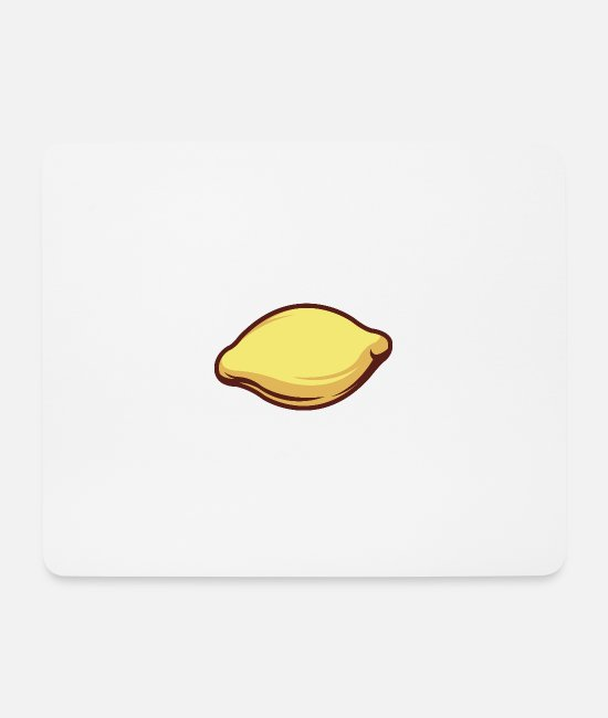 The Grill Mouse Pads - Tasty Lemon - Mouse Pad white