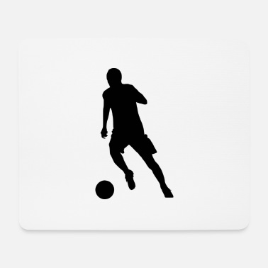 Dribbling Striker at the dribble - Mouse Pad