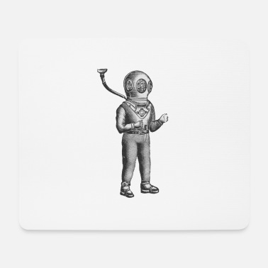 Deep Sea deep sea diver - Mouse Pad