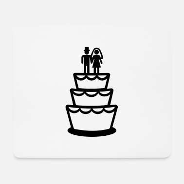 Wedding Cake Wedding cake - Mouse Pad
