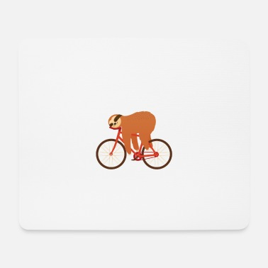 Lentement Sloth Cycling Team - Tapis de souris