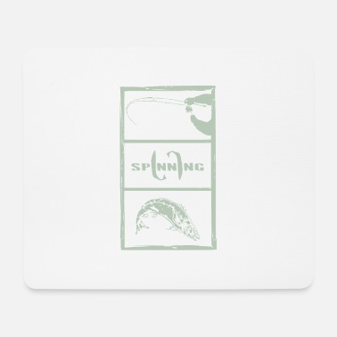 Boat spining gray - Mouse Pad