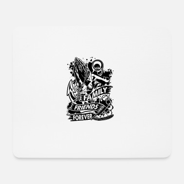 Band Family Friends Forever 666 - Mousepad (Querformat)