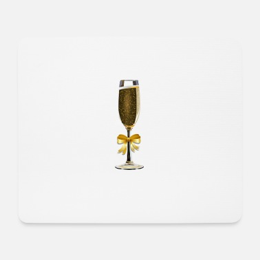 Champagne champagne - Mouse Pad