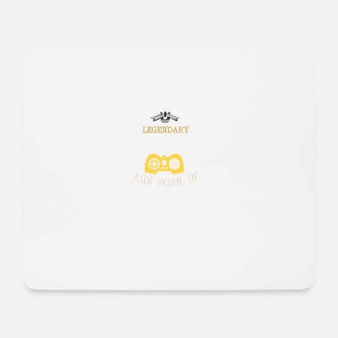 May 1962 Legendary Gamers Are Born In 1962 - Mouse Pad