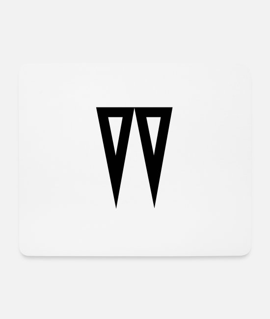 Design Mouse Pads - W - Mouse Pad white