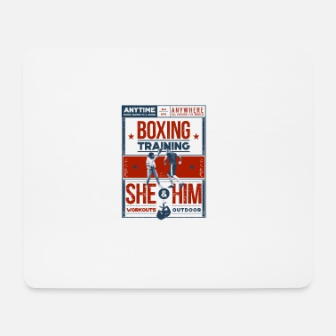 Training Boxing Training - Tapis de souris (format paysage)