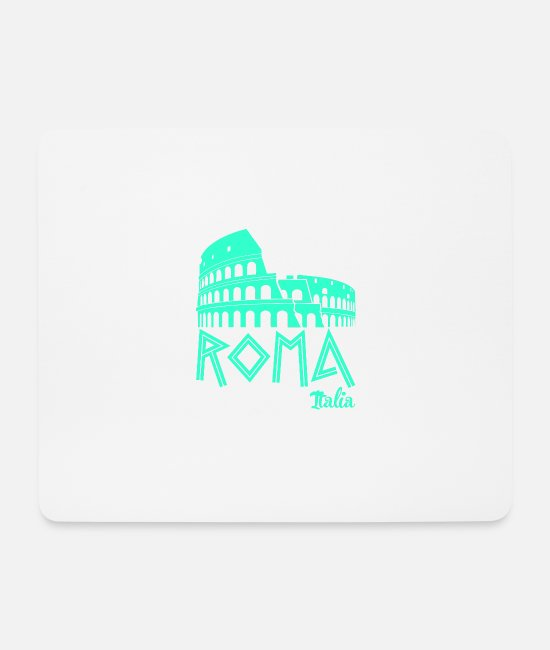 Travel Mouse Pads - Rome travel Italy - Mouse Pad white