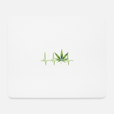 Chill Out Cannabis Hanf THC 420 - Mousepad