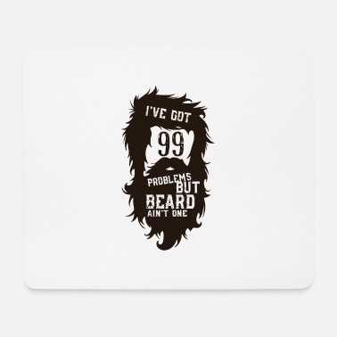 Bearded But a beard beard - Mouse Pad