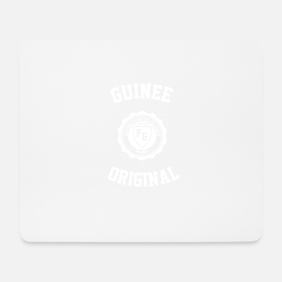 Africa Mouse Pads - guinea college - Mouse Pad white