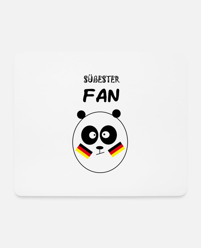 Fan Article Mouse Pads - Sweetest fan - Mouse Pad white