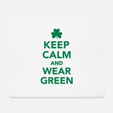 Wear Keep calm wear green - Tapis de souris