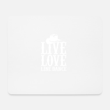 Line Dancing line dance - Mouse Pad
