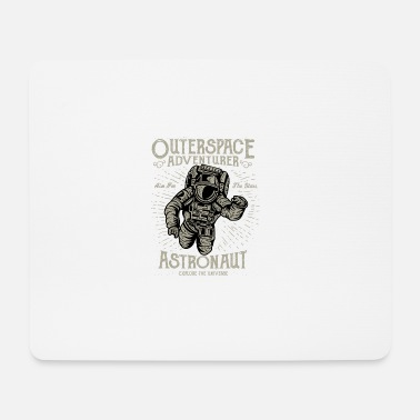 Outerspace Destressed Outerspace Adventurer Design - Mouse Pad