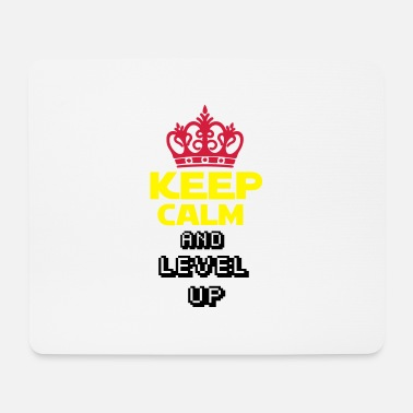 Royaumeuni KEEP CALM AND LEVEL UP 2 - Tapis de souris