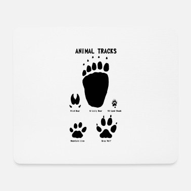 Animal tracks - Tracce animali - Tappetino mouse