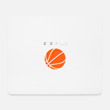 B Ball B-ball, basketball - Mouse Pad